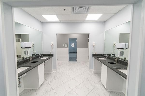Bathroom Facilities at Just Lift