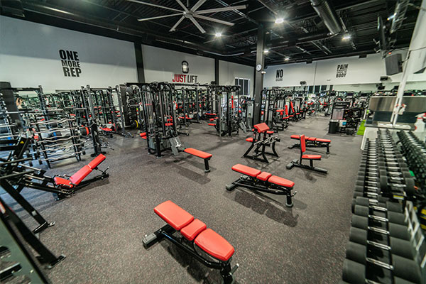 Just Lift Workout Space